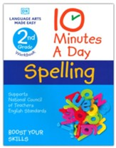10 Minutes A Day Spelling Grade 2