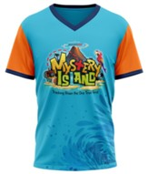 Mystery Island: Student Athletic T-Shirt, Adult Large