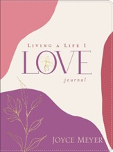 Living a Life I Love Journal, LeatherLuxe