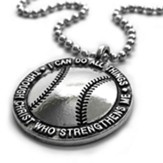 Baseball, I Can Do All Things, Pendant