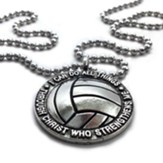 Volleyball, I Can Do All Things, Pendant