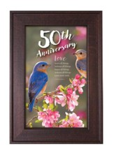 50th Anniversary Framed Art