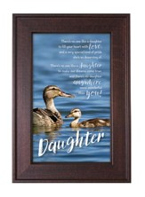 Daughter, There's No One Like A Daughter Framed Art