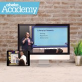 Abeka Academy Grade 5 Full Year  Video Enrollment (Accredited)