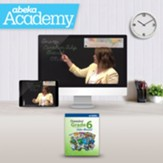 Abeka Academy Grade 6 Full Year  Video Enrollment (Accredited)
