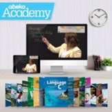 Abeka Academy Grade 6 Full Year  Video & Books Enrollment (Accredited)