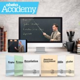 Abeka Academy Grade 12 Full Year  Video Enrollment (Accredited)
