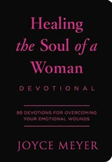 Healing The Soul Of A Woman Devotional: 90 Inspirations For Overcoming Your Emotional Wounds, imitation leather