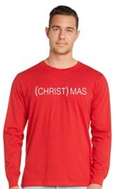(Christ)mas Long Sleeve Shirt, Small