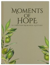 Moments of Hope: A Christian Memorial Keepsake