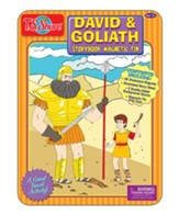 David & Goliath Magnetic Tin