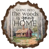 Going into the Woods Bark Wall Art