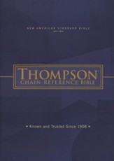 NASB 1977 Thompson Chain-Reference Bible, hardcover