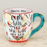 God Is With Her, Mug
