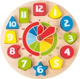 Educational Clock Shapes