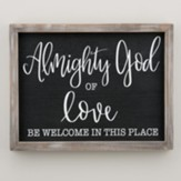 Almighty God Of Love, Framed Art