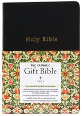 NRSV - The Catholic Gift Bible, Imitation Leather, Black