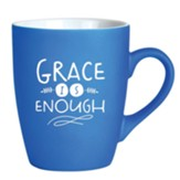 Grace Is Enough Mug, Blue
