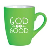 God Is Good Mug, Green