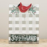 Joy To The World With Red Bird, Frame