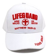 Lifeguard, Mine Walks on Water, Cap, White