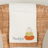 Thankful Pumpkins, Tea Towel