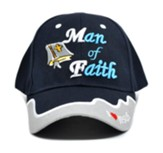 Man of Faith Cap, Blue
