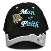 Man of Faith Cap, Black
