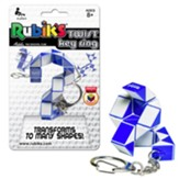 Rubiks Twist Key Ring