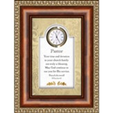 Framed Clock, Pastor, 2 Timothy 4:2