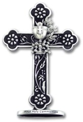 Floral Communion Cross