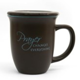 Prayer Changes Everything--Ceramic Mug with Coaster