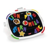 Tablet with Magnetic Letters