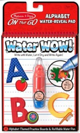 Water Wow! Alphabet
