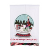 Most Wonderful Time Of The Year Tea Towel