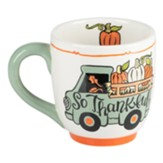 So Thankful Truck Mug