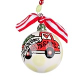 Mr. & Mrs. 1st Christmas Ornament