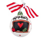 Teacher Your Memory Will Never Be Erased Ornament
