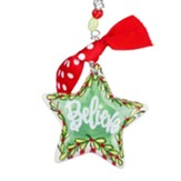 Believe Star Ornament