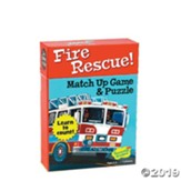 Fire Rescue! Match Up Game and Puzzle