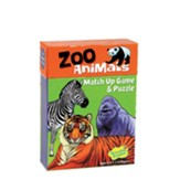 Zoo Animals Match Up Game and Puzzle