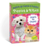 Puppies and Kittens Match Up Game and Puzzle