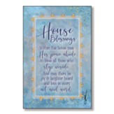 House Blessings Wood Plaque