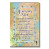 Grandma's Prayer Wood Plaque