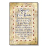 A Prayer For My Mom Wood Plaque