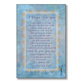 A Prayer For You Wood Plaque