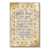 A Special Prayer For You Wood Plaque
