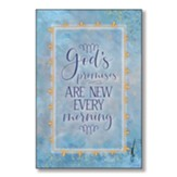 God's Promises Are New Every Morning Wood Plaque