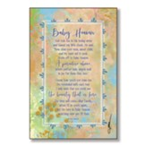 Baby Heaven Wood Plaque