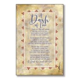 A Dash Of Love Wood Plaque